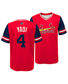 Majestic Yadier Molina St. Louis Cardinals Players Weekend Jersey, Big Boys (8-20)