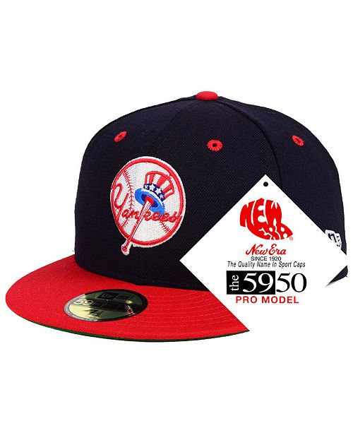 c258436436dcc New Era New York Yankees Retro Stock 59FIFTY Fitted Cap   Reviews ...