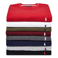 Polo Ralph Lauren Men's Waffle-Knit Thermal (Multiple Color)