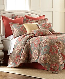 Sherry Kline Aladdin 3-piece Queen Comforter Set