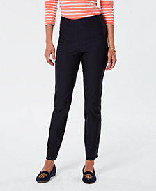 Charter Club Chelsea Tummy-Control Pull-On Pants, Created for Macy's