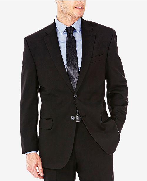 Haggar J.M. Sharkskin Classic-Fit Suit Jacket