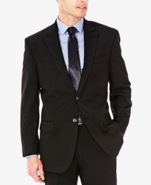 Men's Classic/Regular Fit Stretch Sharkskin Suit Jacket