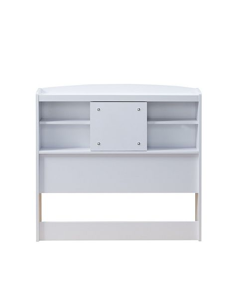 Furniture of America Martucci Modern Twin-Size Bookcase Headboard