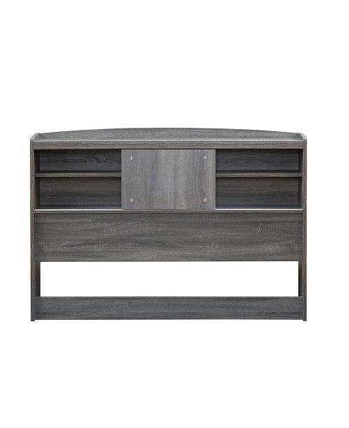 Martucci Modern Full Size Bookcase Headboard