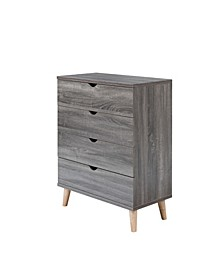 Massenburg II Modern 4-Drawer Chest