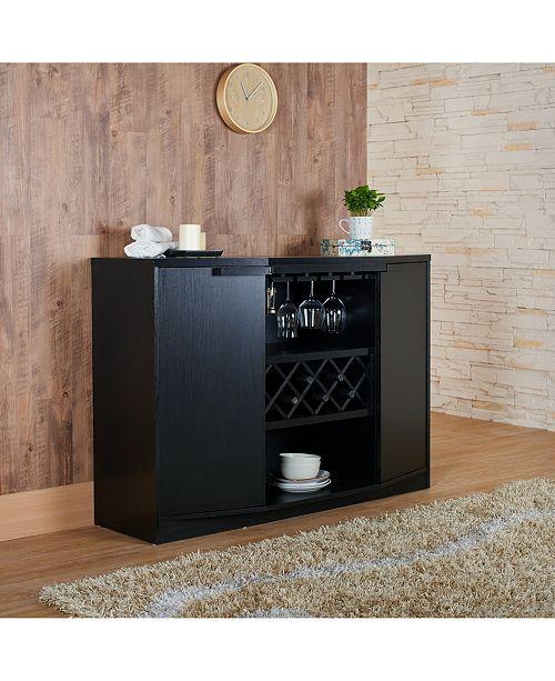 Furniture Of America Bruno Wine Rack Buffet Reviews Home Macy S