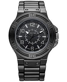 Manis' Men's Quartz Oversized Metal Bracelet Watch