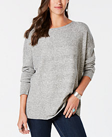 Style & Co Mixed-Rib Sweater, Created for Macy's