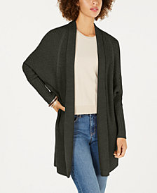 Style & Co Dolman-Sleeve Long Cardigan Sweater, Created for Macy's