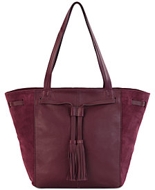The Sak Huntley Tassel Leather Tote