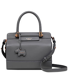 Radley London Treen Manor Leather Satchel