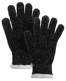 Charter Club Chenille Knit Gloves, Created for Macy's