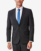 3507fbef0df46 J.M. Haggar Men s Slim-Fit 4-Way Stretch Suit Jacket