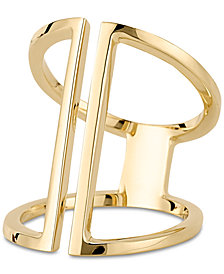 Sarah Chloe Openwork Statement Ring in 14k Gold over Silver (Also Available in Sterling Silver)