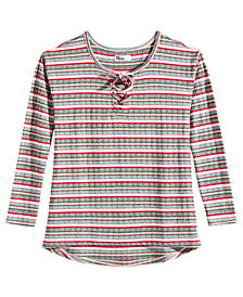 Epic Threads Big Girls Stripped Top