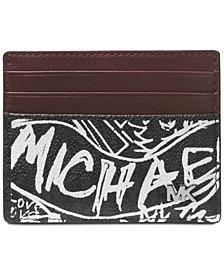 Michael Kors Men's Jet Set Printed Card Case