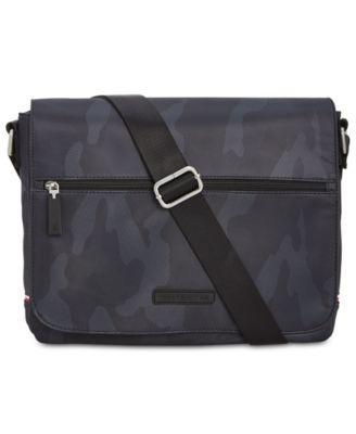Tommy Hilfiger Mens Backpacks Bags Laptop Leather Shoulder Macy S