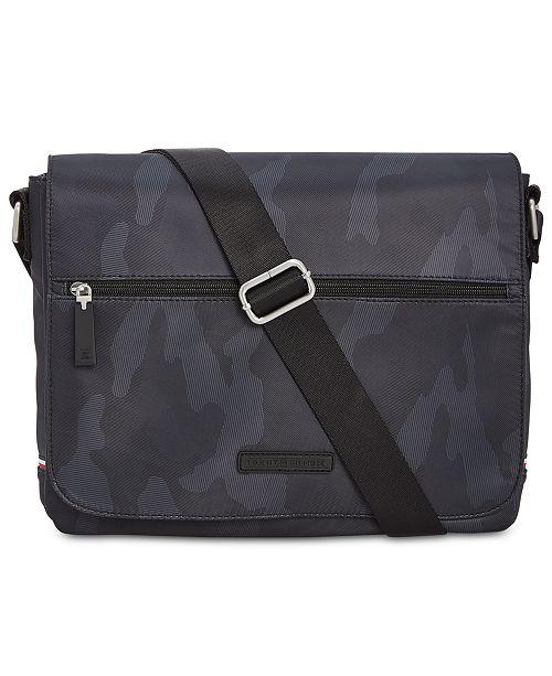 9d6aec25e435 Tommy Hilfiger Men s Camo Messenger Bag  Tommy Hilfiger Men s Camo Messenger  ...