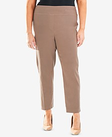 Plus Size Pull-On Ankle Pant
