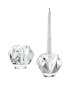 Faceted Star Candleholder