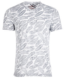 American Rag Men's V-Neck Leaf T-Shirt, Created for Macy's