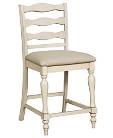 Steph Antique White Pub Chair (Set of 2)