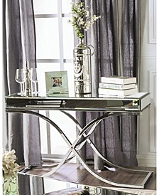 Xander Mirrored Console Table