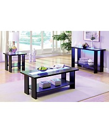 Lumina 3pc Table Set, Quick Ship