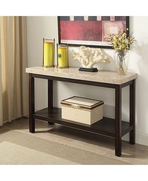 Furniture of America Ozzi Transitional Sofa Table