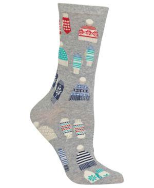 Mittens And Hats Socks in Sweatshirt Grey Heather