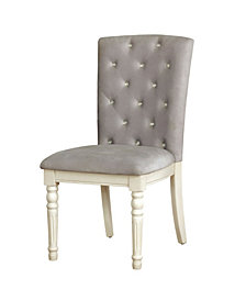Gypsum Side Chair (Set Of 2), Quick Ship