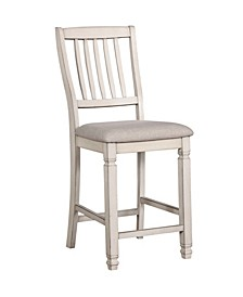 Sonora Antique White Pub Chair (Set of 2)