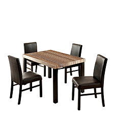 Kenneth 5pc. Dining Set, Quick Ship