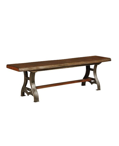 Furniture of America Vito Brown Cherry Bench