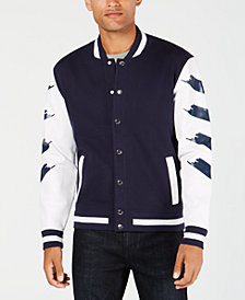 I.N.C. Men's Strokes Varsity Jacket, Created for Macy's