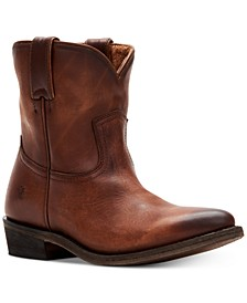 Women's Billy Short Leather Booties