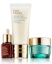 Estée Lauder 3-Pc. Detox + Renew Nighttime Skincare Set