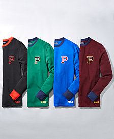 Polo Ralph Lauren Men's Waffle-Knit Thermal with P Logo