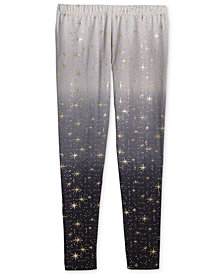 Epic Threads Big Girls Sparkle Ombré Leggings, Created for Macy's