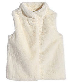 Epic Threads Big Girls Faux Fur Vest, Created for Macy's