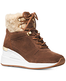 MICHAEL Michael Kors Liv Wedge Booties