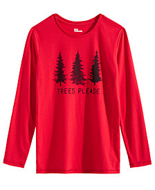 Epic Threads Big Boys Trees Please Graphic Shirt, Created for Macy's