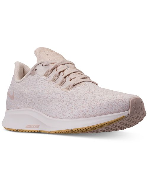 8b2c057510b8 Nike Women s Air Zoom Pegasus 35 Premium Running Sneakers from Finish ...