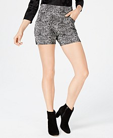 INC Snake Print Shorts, Created for Macy's