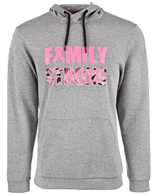 ID Ideology Breast Cancer Awareness Family Strong Hoodie, Created for Macy's