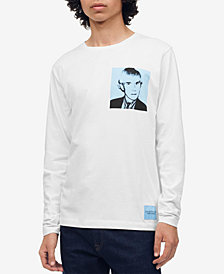 Calvin Klein Jeans Men's Warhol Graphic Long Sleeve T-Shirt