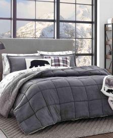 Sherwood Grey Comforter Set, Full/Queen