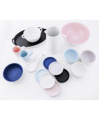 CLOSEOUT! Misty Blue Ceramic Coasters, Set of 4