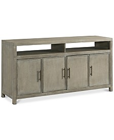 "Nash 64"" TV Console, Created for Macy's"
